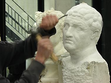 Cursus workshop opleiding beeldhouwen en boetseren in steen klei en gips - Steen ijzer smeden ...